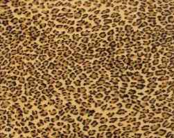 Leopard fabric small repeat
