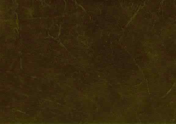 Moss green weathered and distressed waterproof fabric