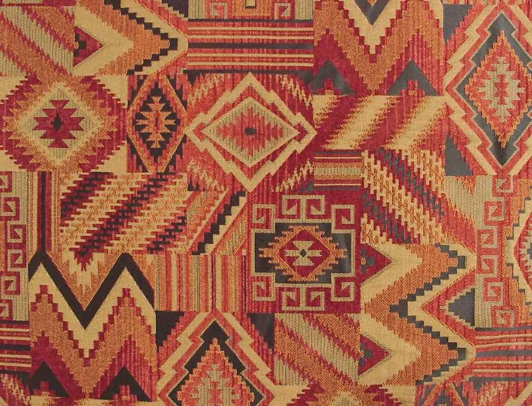 Navajo Southwestern Fabric - Native American blanket