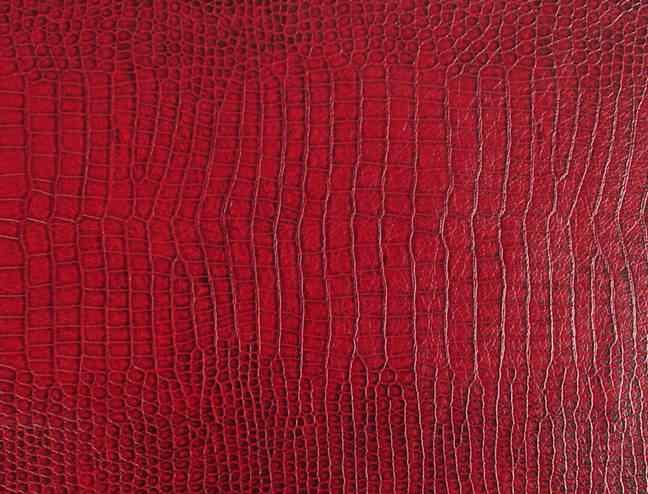 Snakeskin Lizard Urethane Waterproof Fabric