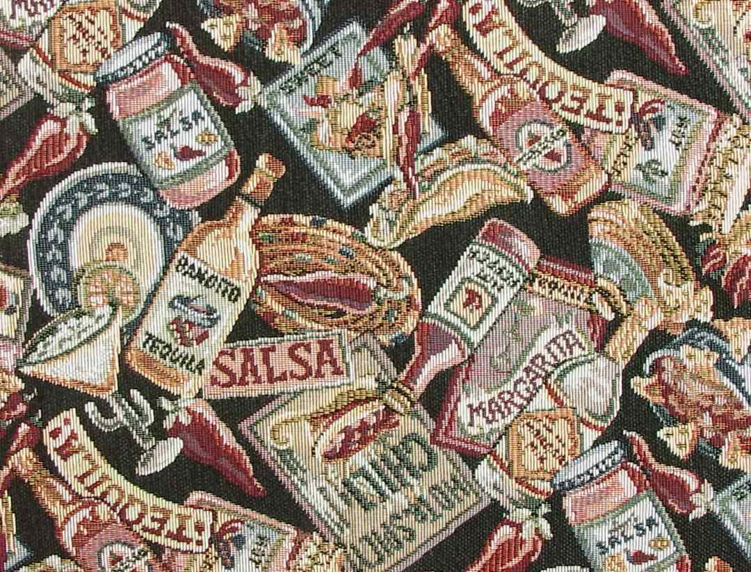 Southwestern Chili Peppers Fabric