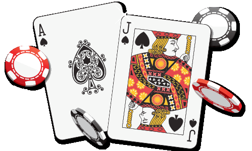 Poker Playing Cards Fabric Gaming