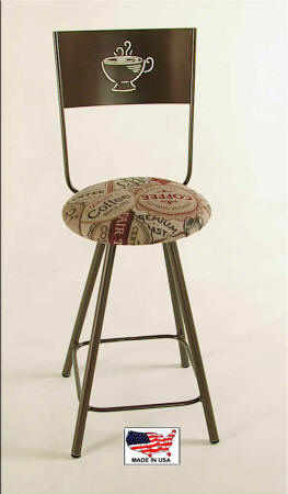 coffee cup kitchen counter bar stool